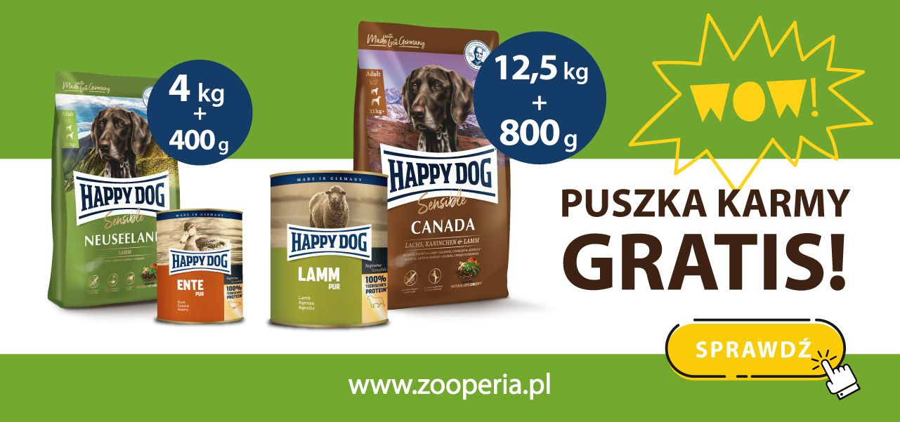 Promocja Happy Dog