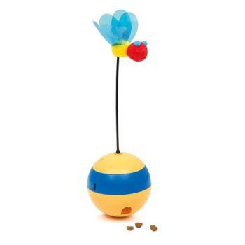 Spinning Bee zabawka na przysmaki dla kota
