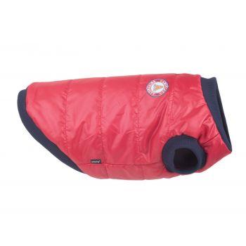 Bronx kurtka puchowa dla psa czerwona