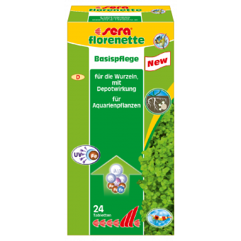 Florenette Basic Care nawóz podstawowy w tabletkach 24 szt.