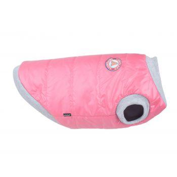 Bronx kurtka puchowa dla psa różowa