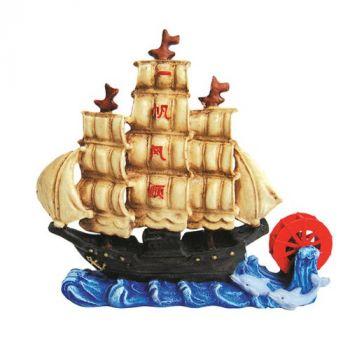 Dekoracja okręt 14 cm