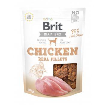 Jerky Real Fillets przysmaki z kurczakiem 80 g