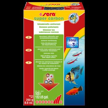 Super Activ Filter Carbon wkład do filtra 250 g
