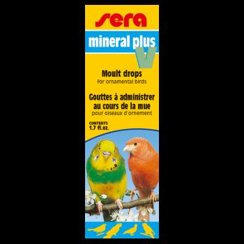 Mineral Plus V krople dla ptaków ozdobnych
