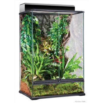 Terrarium szklany 60 x 45 x 90 cm