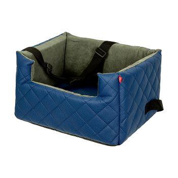 Mia Lux fotelik samochodowy dla zwierząt niebieski