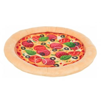 Pizza pluszowa zabawka dla psa 26 cm