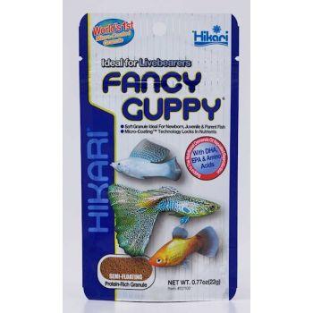 Fancy Guppy pokarm dla ryb piękniczkowatych