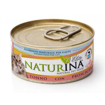 Karma dla kotów z tuńczykiem i szynką 70 g
