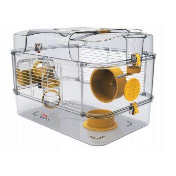 Rody 3 Solo klatka dla chomika żółta