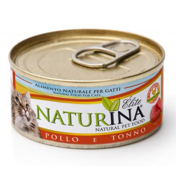 Karma dla kotów z tuńczykiem i kurczakiem 70 g