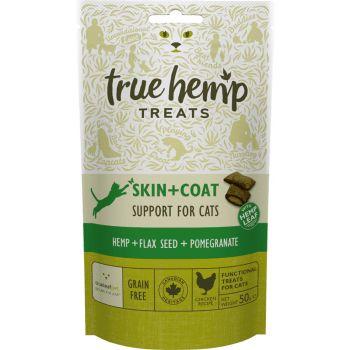 Skin + Coat przysmaki dla kota z konopiami 50 g