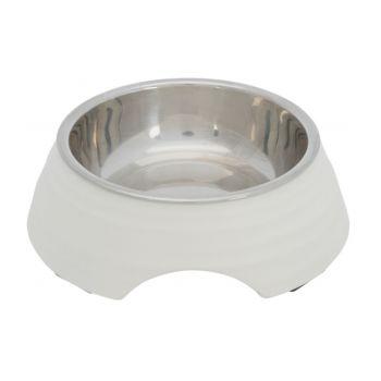 Miska biała melaminowo-metalowa