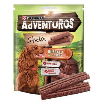 Adventuros Sticks przysmak dla psa z bawołem 120 g