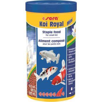 Koi Royal Mini granulat dla ryb stawowych