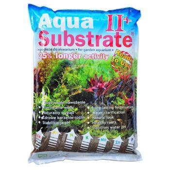 Podłoże Aqua Substrate II+ brązowe