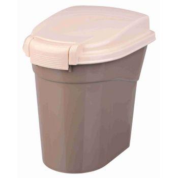 Pojemnik na karmę ciemnoszary/kremowy 3,8 l