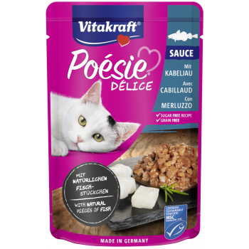 Poesie karma dla kotów z dorszem 85 g