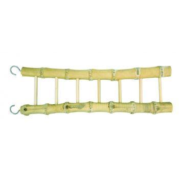 Bambusowa drabinka dla ptaków 7 x 31 cm