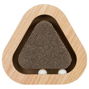 Drapak kartonowy trójkątny