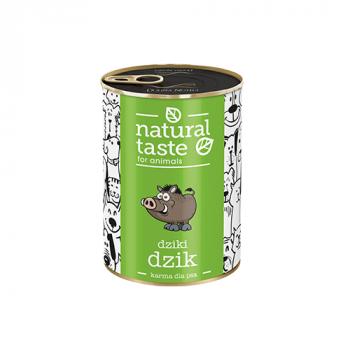 """Natural Taste """"Dziki dzik"""" danie z dzika 400 g"""