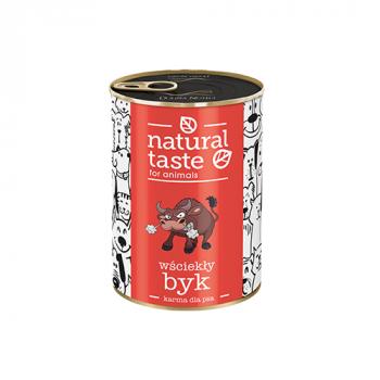 """Natural Taste """"Wściekły byk"""" danie z wołowiny"""