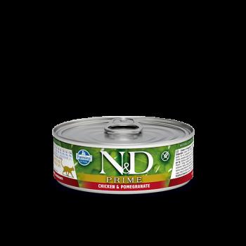 N&D Prime karma mokra z kurczakiem i granatem 80 g
