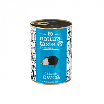 "Natural Taste ""Czarna owca"" danie z jagnięciny 400 g"