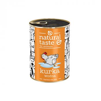 "Natural Taste ""Kurka wodna"" danie z kurczaka 400 g"
