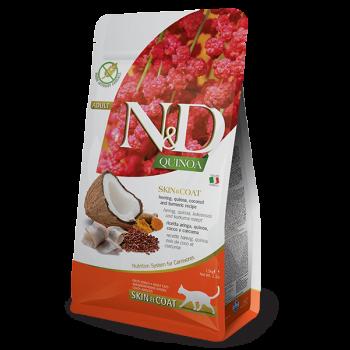 N&D Skin and Coat Quinoa śledź i kokos 300 g