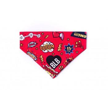 Super Hero bandana dla psa