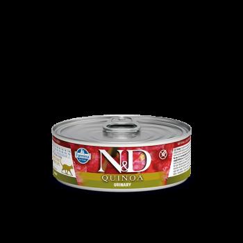 N&D Quinoa Urinary karma mokra z kaczką i żurawiną 80 g