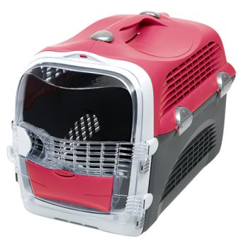 Design Cabrio transporter czerwono-szary