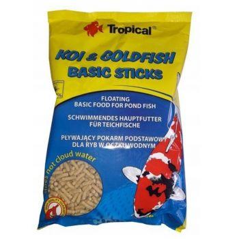 Koi & Goldfish Basic Sticks pokarm dla ryb stawowych