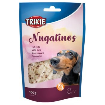 Nugatinos przysmaki dla psa z kaczką 100 g