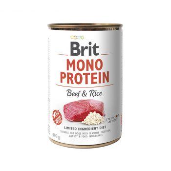 Mono Protein wołowina z ryżem 400 g
