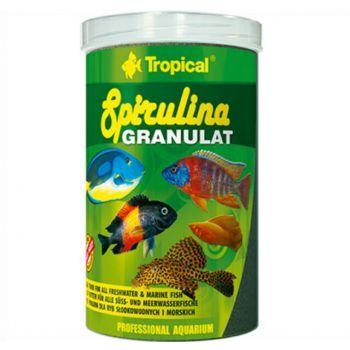 Spirulina Granulat pokarm dla ryb