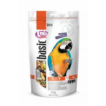 Pokarm pełnoporcjowy dla dużych papug 350 g