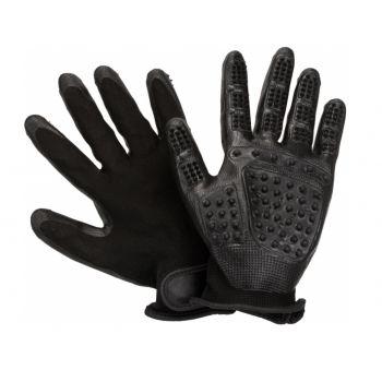 Nylonowe rękawice do wyczesywania 2 szt.