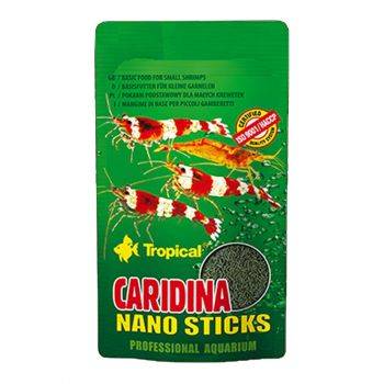 Caridina Nano Sticks pokarm dla krewetek
