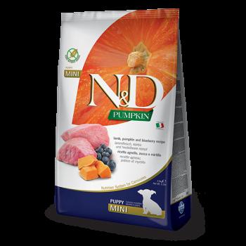 N&D Pumpkin Puppy Mini z jagnięciną i borówkami