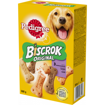 Biscrock nadziewane ciastka dla psa 500 g