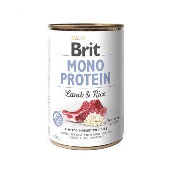 Mono Protein jagnięcina z ryżem 400 g