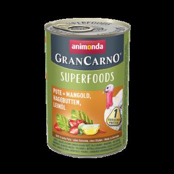Gran Carno Superfoods karma z indykiem, buraczkami i dziką różą 400 g