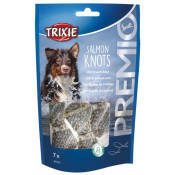 Premio Salmon Knots przysmak z łososiem 7 szt.