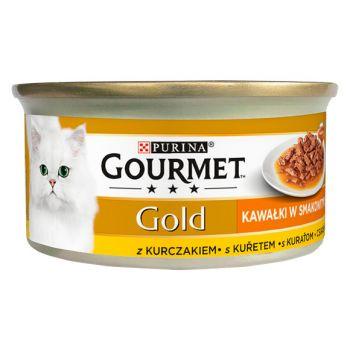 Karma Gold Sauce Delight karma dla kota z kurczakiem w sosie 85 g