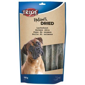 Natural & Dried przysmak dla psa skóra z łososia 150 g