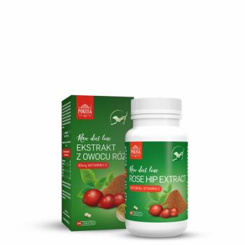 RawDietLine ekstrakt z owocu dzikiej róży 120 tabl.