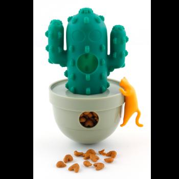 Kaktus na przysmaki zabawka dla kota